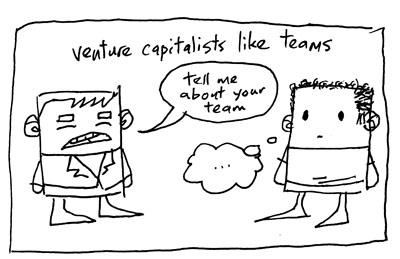 Venture capitalists like teams