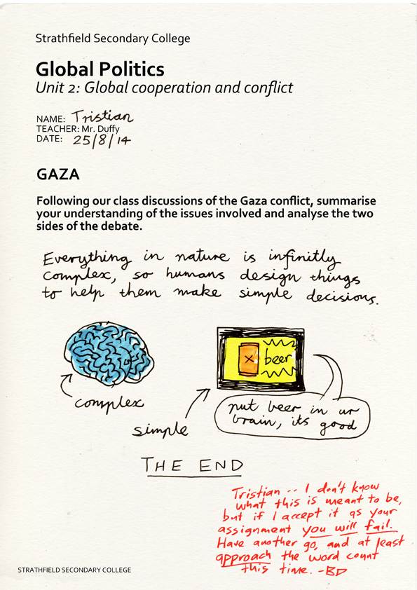 Tristian and the Gaza Strip, pg 1