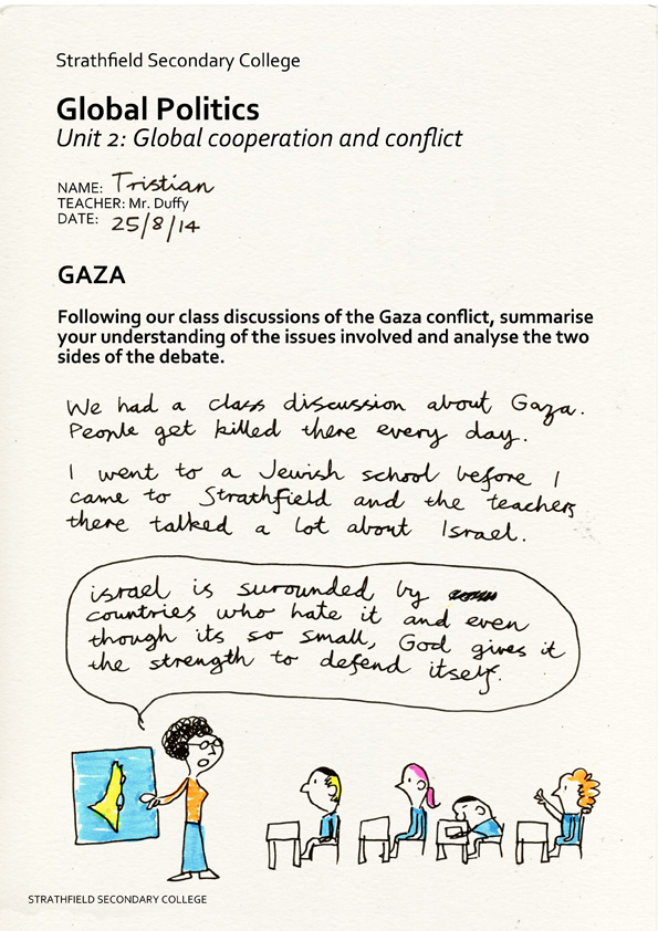 Tristian and the Gaza Strip, pg 2