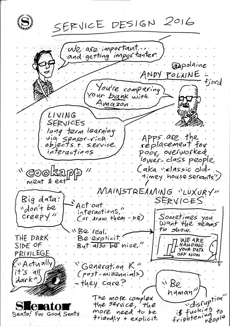 Service Design 2016 sketchnotes pg 1