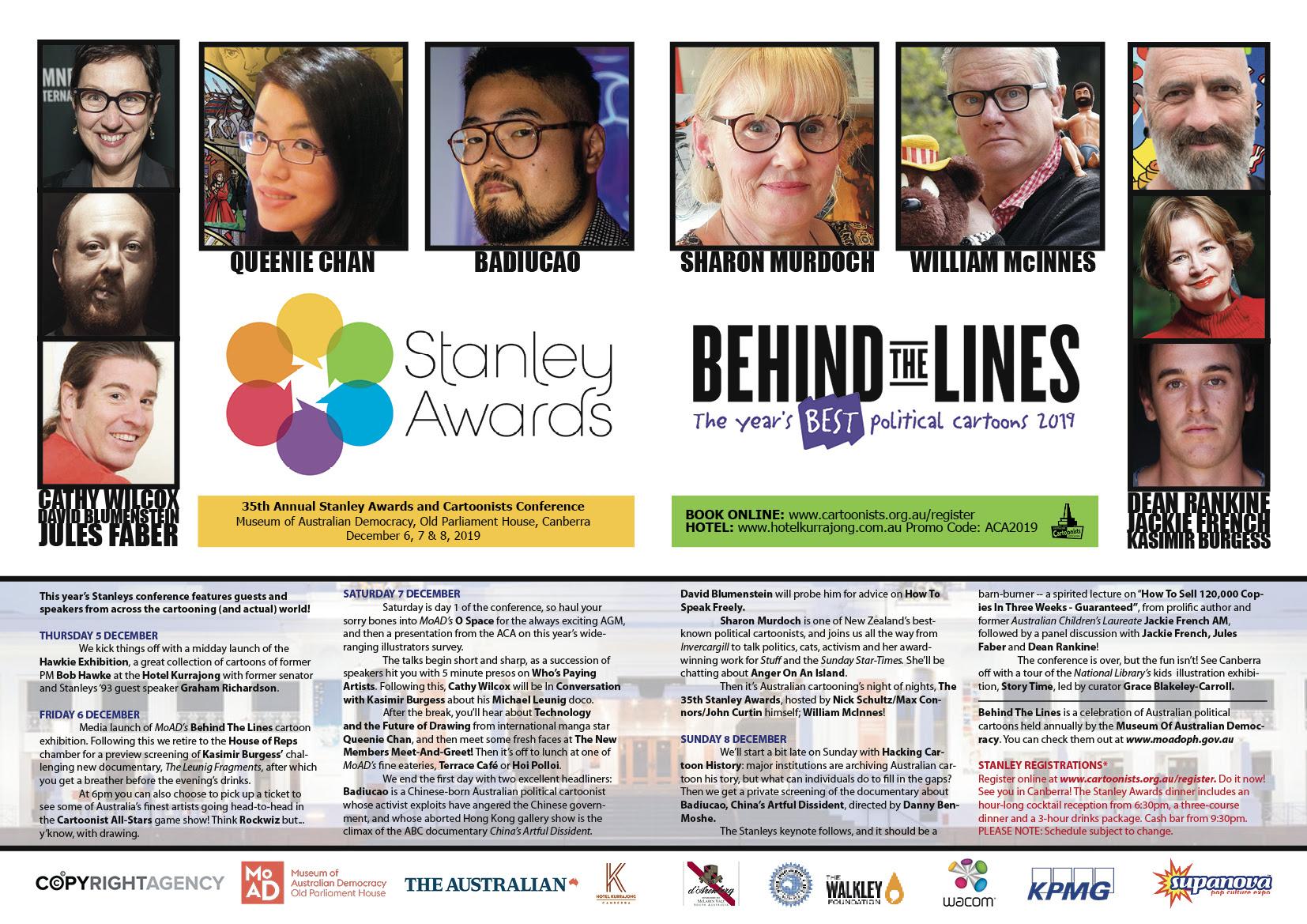 Program for Stanleys conference 2019