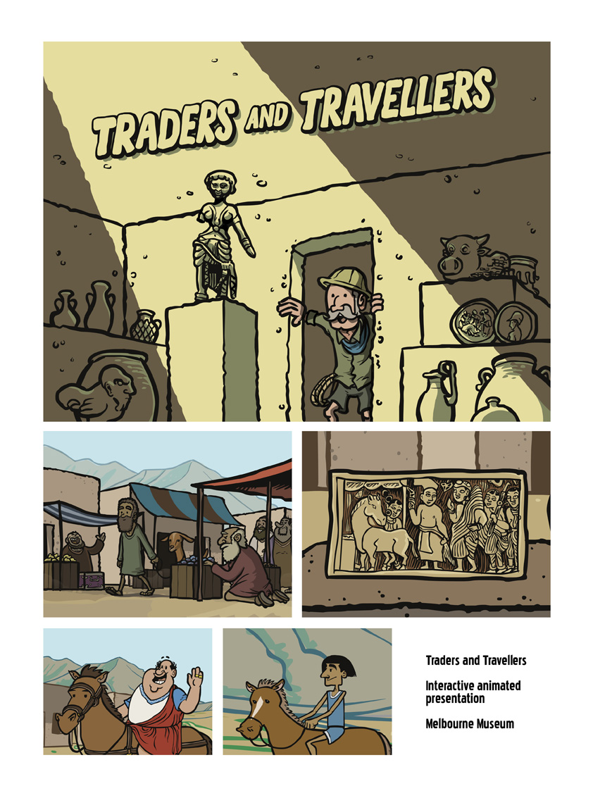 Traders and Travellers, Melbourne Museum