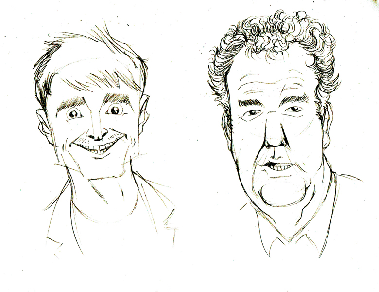 Harry Potter boy and Top Gear man